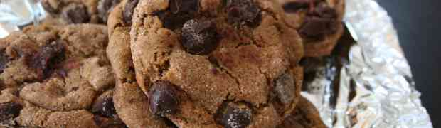 Molasses Triple Chocolate Cookies