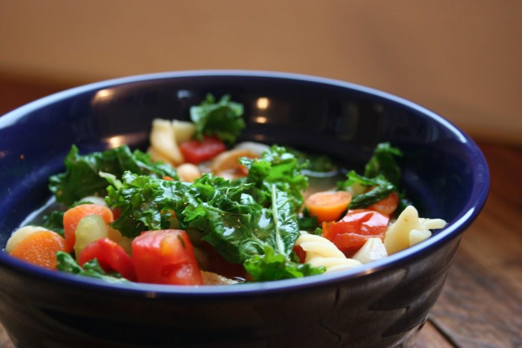 sausage minestrone