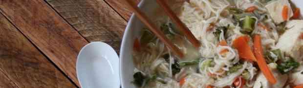 Somen Noodle Soup with Tofu