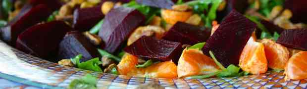 Citrusy Orange, Arugula and Beet Salad